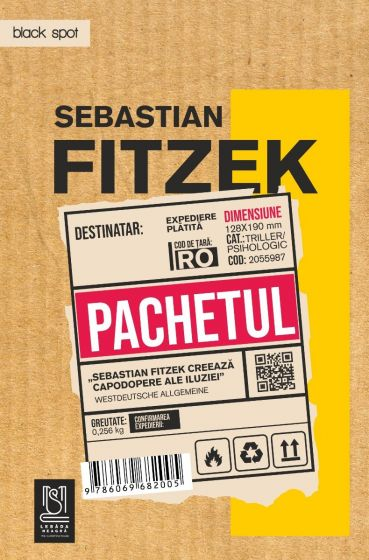 Pachetul, Thriller psihologic - Sebastian Fitzek